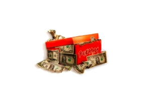 Dollar Box Lapel Pin