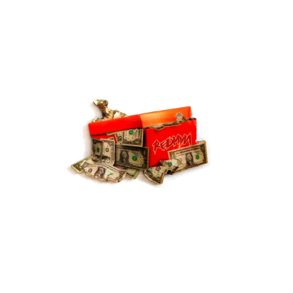 Dollar Box Lapel Pin