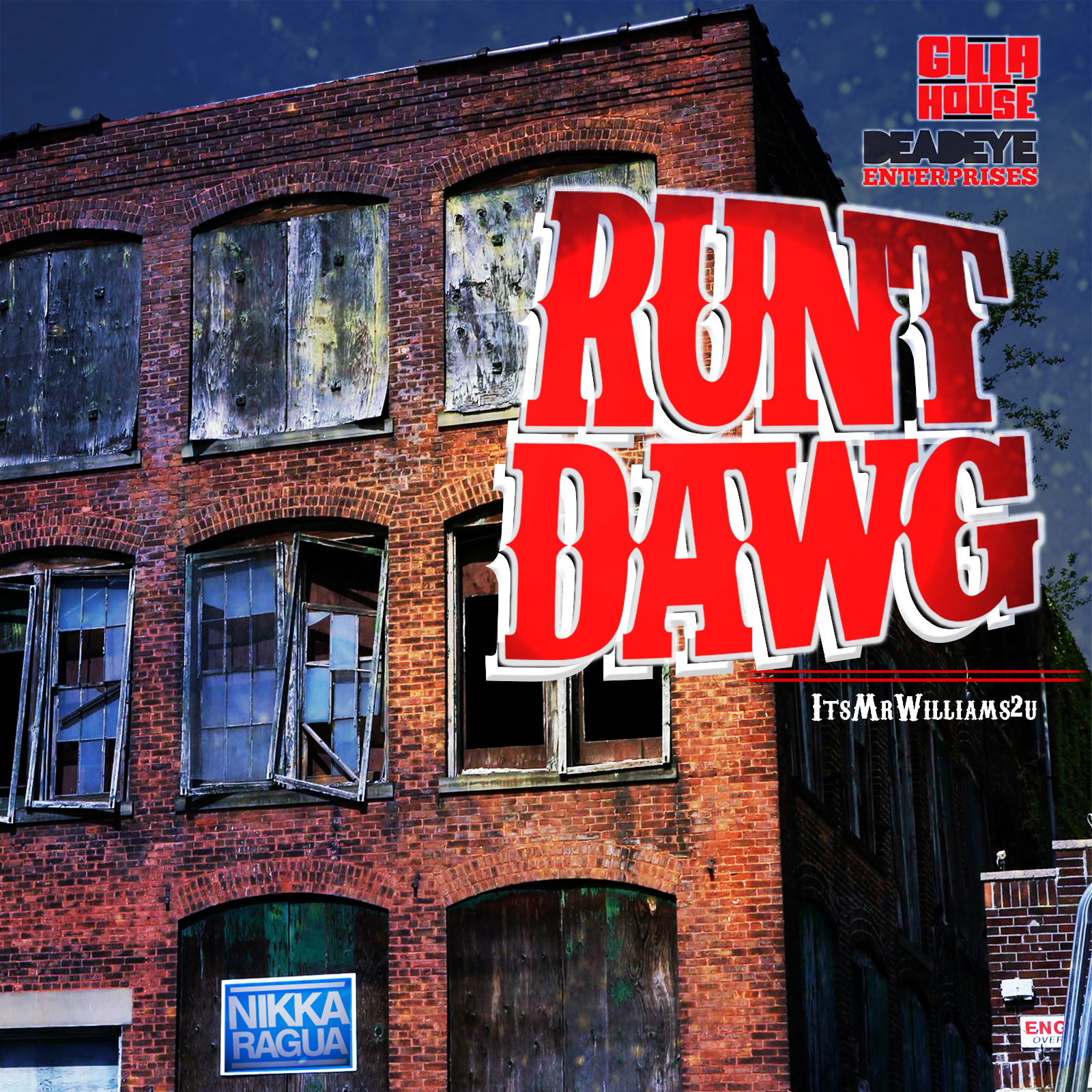 runt dawg 4 cd album cover_DEADEYE WEB